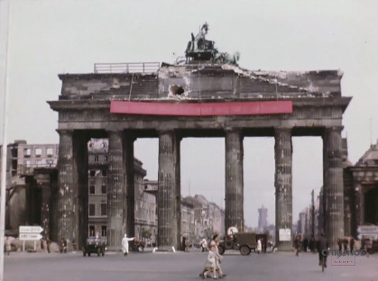 Amazing Video of Berlin & Potsdam in July 1945