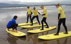 Surfing with Perfect Day Surf School