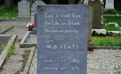 W.B. Yeats Grave at Drumcliff Cemetery